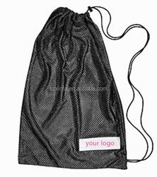 hot selling mesh polyester drawstring bag for wholesale