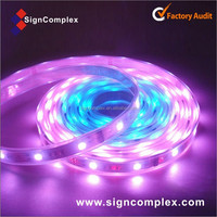 rgb/white/warm white SMD 5050 flexible strip flash led light with CE ROHS