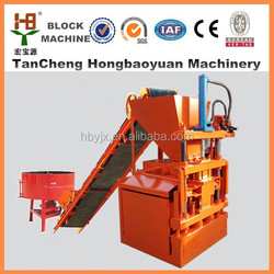 hby1-10 hydraform block soil cement brick machine