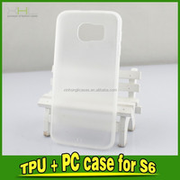2 In 1 TPU+PC Frosted Case Cover For S6, PC Case For IPhone, TPU Back Cover Case For Phone