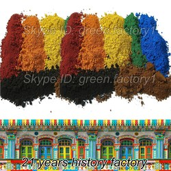 powder pigment iron oxide pellets competitive price/rate india/malaysia
