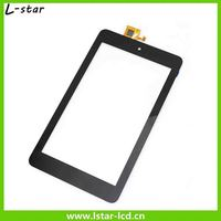 Alibaba stock price Spare parts tablet touch screen for Dell Venue7 T01repair front glass replacement