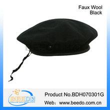 fashion black women cheap military beret