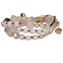 Hermoso diseño de la perla perlas pulsera de la joyería