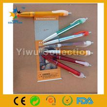 high quality multifuction advertising promotional pen with pull out banner paper