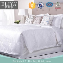 ELIYA Chinese Factory Price 4pcs King/Queen Size Cotton 5 star Hotel Bedding Set