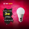 alibaba express new products A55 e27 3w led light bulbs