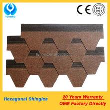 asphalt roofing shingle brown color