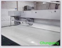 Delgado colchón de látex natural/colchón de espuma