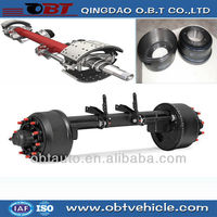 low bed truck trailer parts axles
