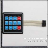 4x3 Matrix Array 12 Key Membrane Switch Keypad Keyboard