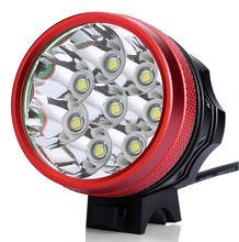 mini size high brightness 12000 lumen led bicycle light led bike headlight
