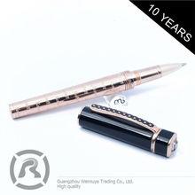 Supplier Luxury Quality Custom Logo Metallic Gel Ink Pen As Gift