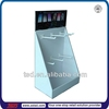 TSD-C371 Custom retail small mobile phone shop decoration,advertising paper display stand,tabletop cardboard display stands
