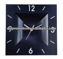 Fashion design plastic all clock high quality wall clock 3D promotion clock