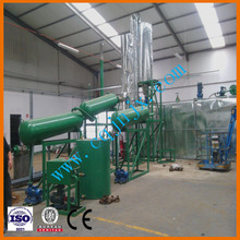 New mini-refinery of waste car/truck motor oil and crude oil ! China JNC-30 waste oil distillation