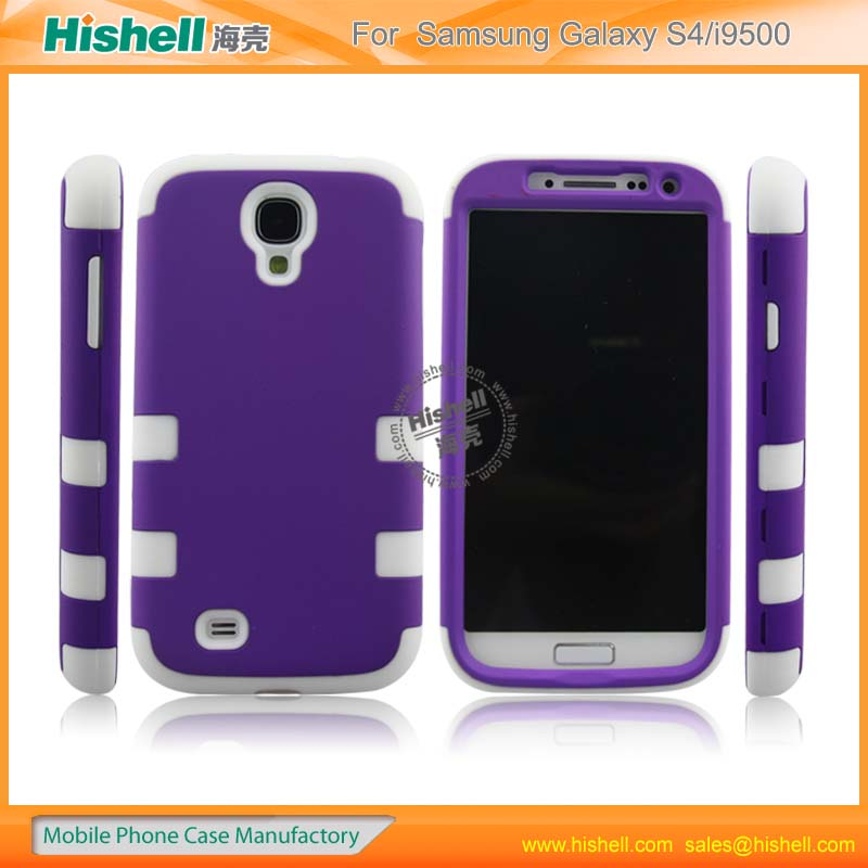 high quality silicone case for mobile phone samsung s4