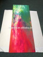 Customer Printed Eco-friendly natural rubber Yoga Mat Folding