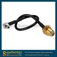 Mini UHF male to UHF female Coax cable RG58 Mobile Radio Antenna cable