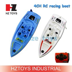 For free inflatable pool 4ch rc boat model toy, remote control toy boat.