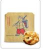 Food grade chicken steak paper bag, greaseproof chicken bag, laminated chicken bag