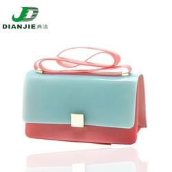 2015 cute bag manufacturer forjelly handbags,silicone satchel bag,rubber silicone handbags