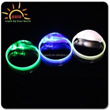 Flashing wristband with led, flashing led wristband, led wristband bracelet