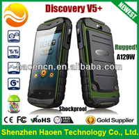 Factory Cheap 3.5inch rugged mobile phone MTK6572W dual core 3g mobile phone Android 4.2.2 Dustproof Shockproof Discovery V5+