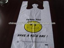 Plastic Shopping bag---can be produced as fixed size