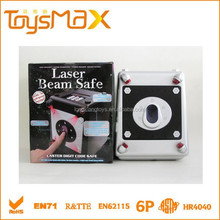 Plastic Safety Box Toys with light and Infrared sensor