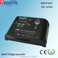 Led display 10A solar controller/12/24V charge controller, pv solar power system charge regulator