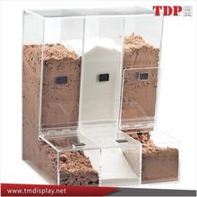 Fabricante personalizado moda caixa de doces acrílico caixa de doces acrílico distribuidor fabricante atacado