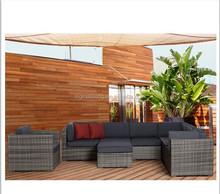 2015 Rattan sofa set wicker living room used sofa set