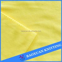 100%polyester 2 way stretch tube rib knit fabric