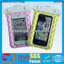 Candy colorful fashion smartphones waterproof bag