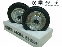 8inch high torque DC hub motor for scooter
