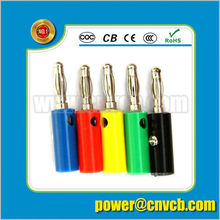 American mini conversion banana ac/dc adaptor plug