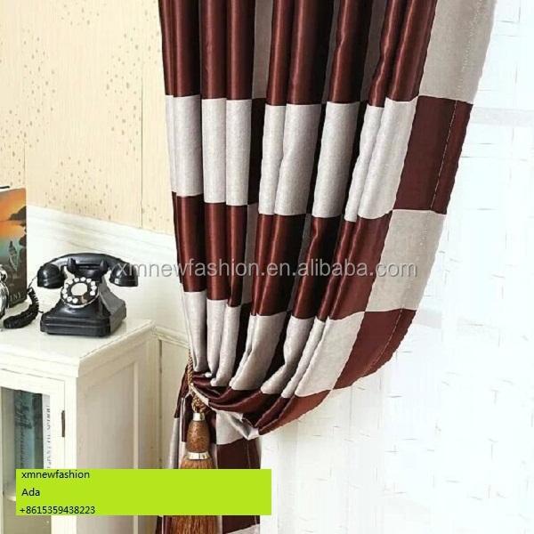 Comprobar tejido para últimos diseños de la cortina cortina diseño ...