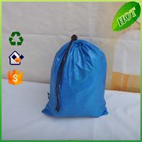 2015 new product custom polyester/nonwoven drawstring shoe bag