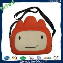 Factory custom cheap plush bag wholesale handbag china