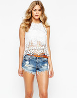 Wholesale Sexy Summer Women Lace Blouse/Tops/Apparel,Fashion Lady/Female Clothes