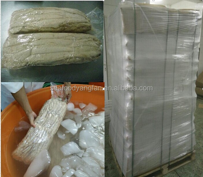 7.5kg vacuum bag frozen pre-cooked belted bonito loin