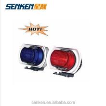Senken police use 12V motorcycle xenon strobe light with siren speaker