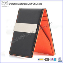 Fashion High Quality Money Clip Leather With Card Holder