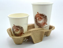 Disposable Paper Cup Holder-2cups
