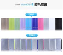 Silk stripe leather case for ipad 5