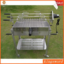 Durable Stainless Steel Commercial Induction Charcoal BBQ Grill