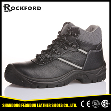 Winter steel toe protective boots / leather antil-slip protective boots for men FD4112