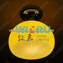 Candy yellow ceiling, color can be customized, lemon shape Ceiling