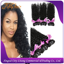 Peruvian hair!100% human virgin hair weaving kinky curl large stock for promotion !